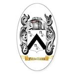 Fitzwilliams Sticker (Oval 50 pk)