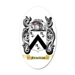 Fitzwilliam Oval Car Magnet