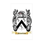 Fitzwilliam Sticker (Rectangle 50 pk)