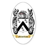 Fitzwilliam Sticker (Oval 10 pk)