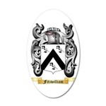 Fitzwilliam 35x21 Oval Wall Decal