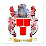 Fitzsimmons Square Car Magnet 3