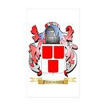 Fitzsimmons Sticker (Rectangle 50 pk)