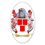 Fitzsimmons Sticker (Oval 50 pk)
