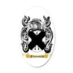 Fitzmaurice Oval Car Magnet