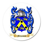 Fitzjames Round Car Magnet