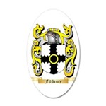 Fitzhenry 20x12 Oval Wall Decal