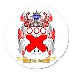 Fitzgibbon Round Car Magnet