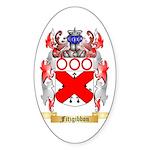 Fitzgibbon Sticker (Oval 10 pk)