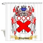 Fitzgibbon Shower Curtain