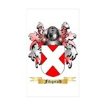 Fitzgerald Sticker (Rectangle 10 pk)