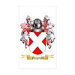 Fitzgerald Sticker (Rectangle 50 pk)
