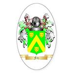 Fitz Sticker (Oval 10 pk)