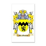 Fitz Maurice Rectangle Car Magnet