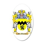 Fitz Maurice 20x12 Oval Wall Decal