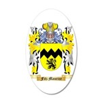 Fitz Maurice 35x21 Oval Wall Decal
