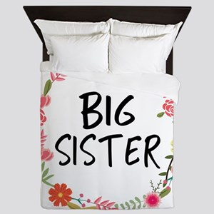 Big Sister Floral Queen Duvet