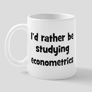 Study econometrics Mug