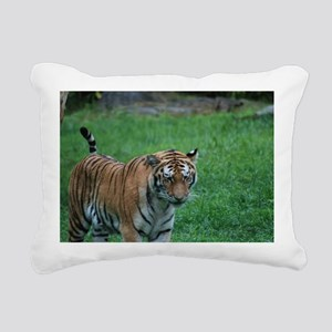 Prowling Tiger Rectangular Canvas Pillow
