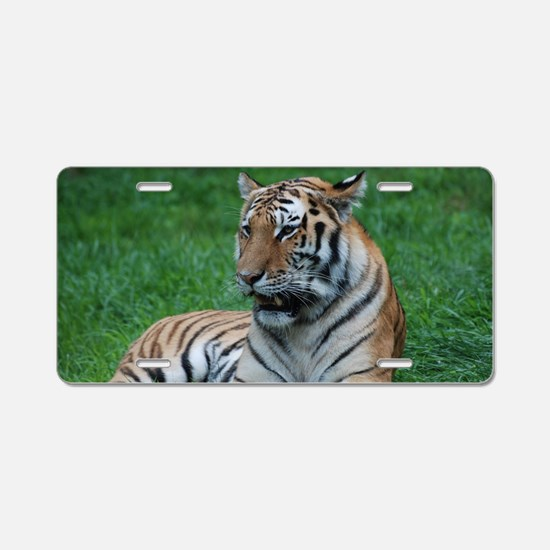 Gorgeous Tiger Aluminum License Plate