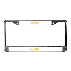 Golden Redhorse 3 License Plate Frame