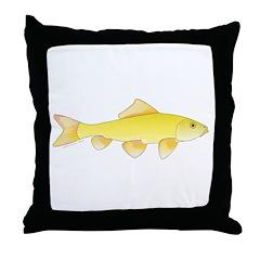 Golden Redhorse 3 Throw Pillow