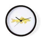 Golden Redhorse 3 Wall Clock