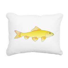 Golden Redhorse 3 Rectangular Canvas Pillow
