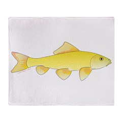 Golden Redhorse 3 Throw Blanket