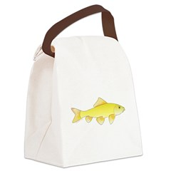Golden Redhorse 3 c Canvas Lunch Bag