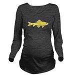 Golden Redhorse 3 c Long Sleeve Maternity T-Shirt