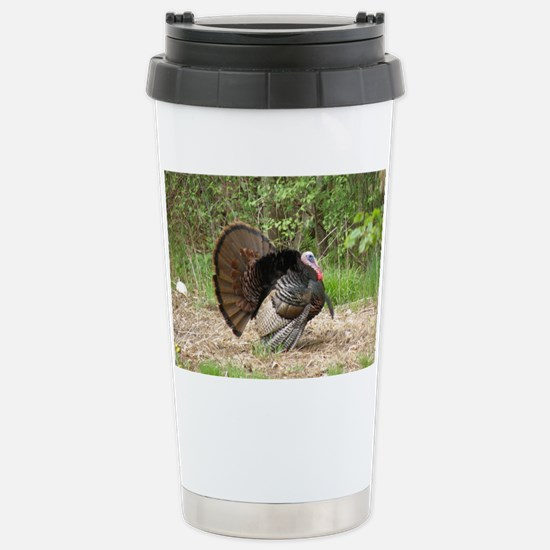 Wild Turkey Stainless Steel Travel Mug