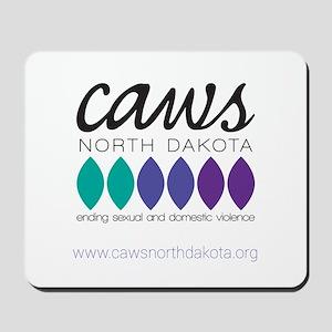 Caws North Dakota Mousepad