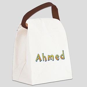 Ahmed Giraffe Canvas Lunch Bag