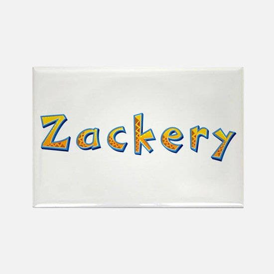 Zackery Giraffe Rectangle Magnet