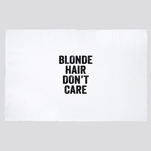 Blonde Hair Dont Care 4' x 6' Rug
