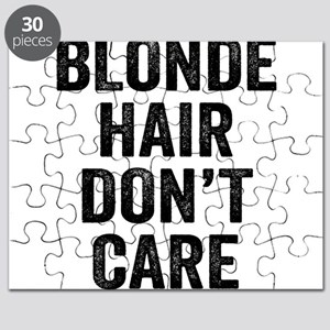 Blonde Hair Dont Care Puzzle