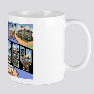 New Jersey Greetings Mug