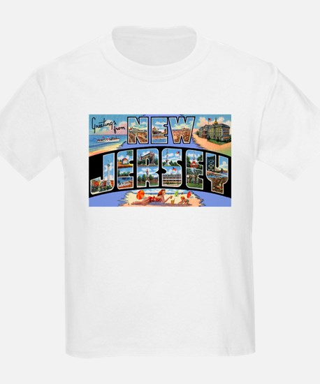 New Jersey Greetings (Front) T-Shirt