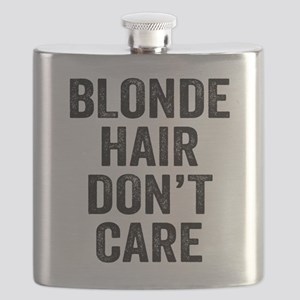 Blonde Hair Dont Care Flask