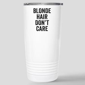 Blonde Hair Dont Care Mugs