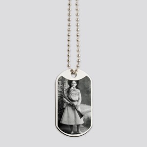 Vintage Photo of Annie Oakley Dog Tags