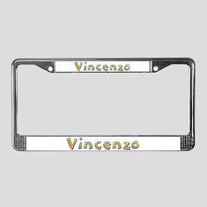 Vincenzo Giraffe License Plate Frame