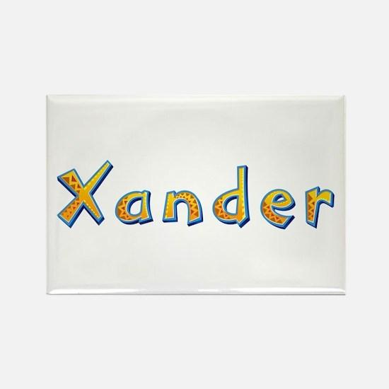 Xander Giraffe Rectangle Magnet