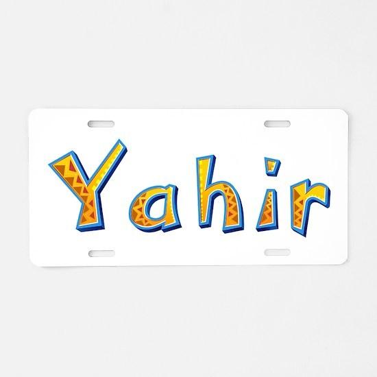 Yahir Giraffe Aluminum License Plate