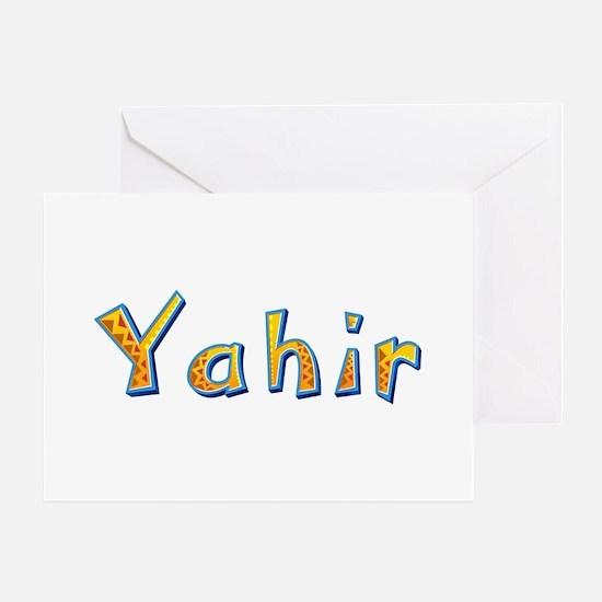 Yahir Giraffe Greeting Card
