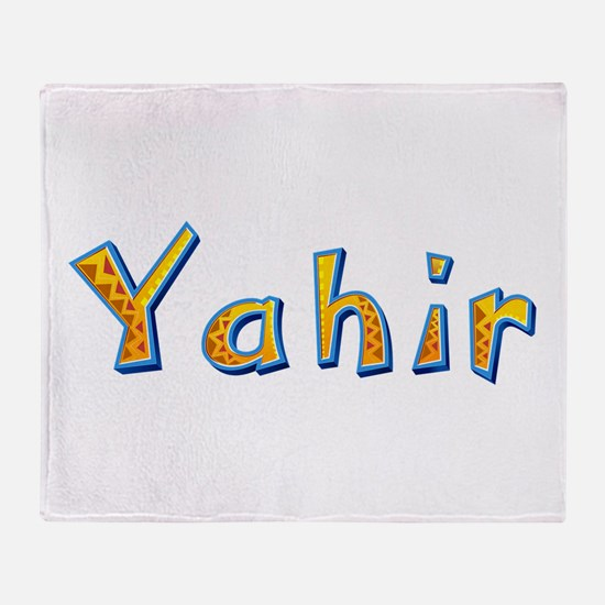 Yahir Giraffe Throw Blanket