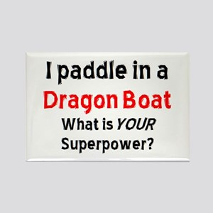 Paddle Dragon Boat Rectangle Magnet Magnets