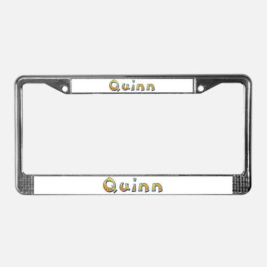 Quinn Giraffe License Plate Frame