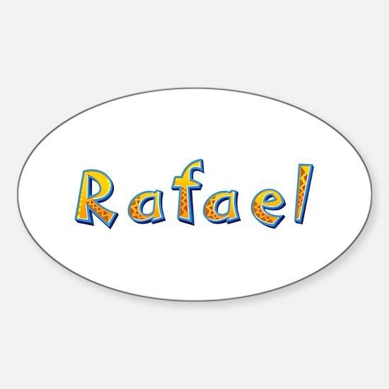 Rafael Giraffe Oval Decal